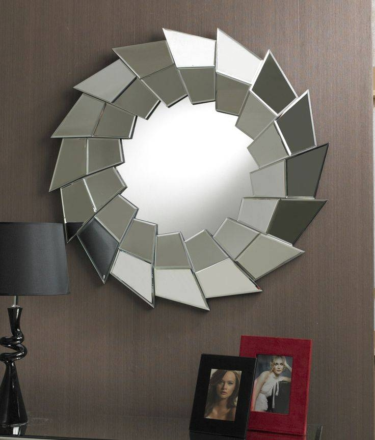 35 Best Round Mirrors Images On Pinterest | Round Mirrors, Clear Regarding Unusual Round Mirrors (View 3 of 20)