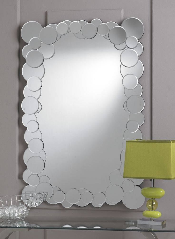 35 Best Round Mirrors Images On Pinterest | Round Mirrors, Clear With Funky Round Mirrors (View 11 of 30)