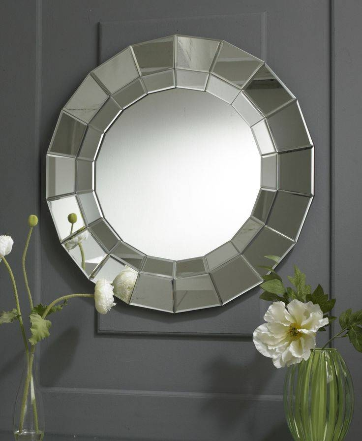 Inspiration about 35 Best Round Mirrors Images On Pinterest | Round Mirrors, Clear With Regard To Unique Round Mirrors (#10 of 30)