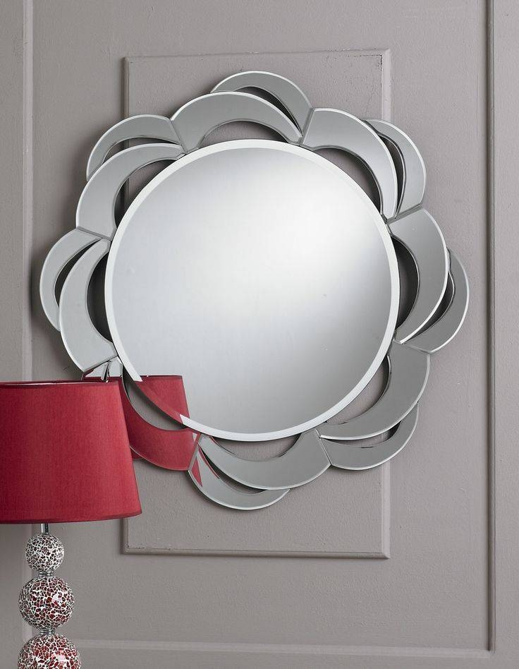 Inspiration about 35 Best Round Mirrors Images On Pinterest | Round Mirrors, Clear Within Unusual Round Mirrors (#8 of 20)