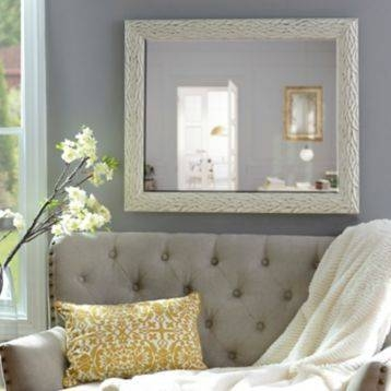 Inspiration about 35 Best Wall Mirror Images On Pinterest | Wall Mirrors, Decorative Inside Distressed Framed Mirrors (#17 of 30)