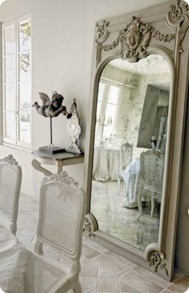 Inspiration about 353 Best Mirrors And Mirror Walls Images On Pinterest | Mirror Within French Floor Mirrors (#16 of 20)
