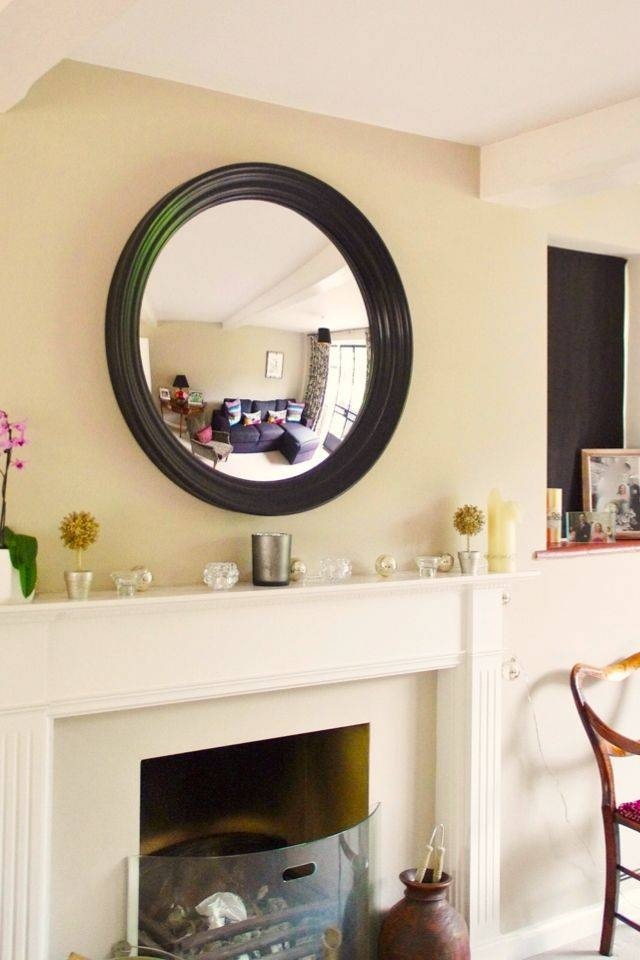 36 Best Convex Mirrors In Interiors Featuring Omelo Mirrors Images With Large Round Convex Mirrors (#6 of 30)