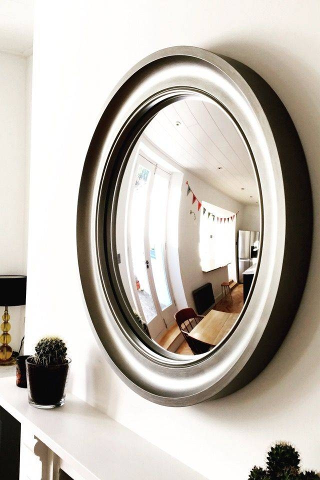 Inspiration about 36 Best Convex Mirrors In Interiors Featuring Omelo Mirrors Images Within Large Round Convex Mirrors (#13 of 30)