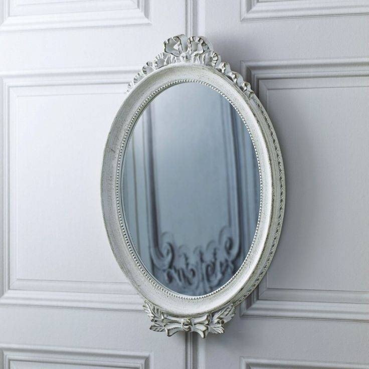 Inspiration about 36 Best Mirrors Images On Pinterest | Mirror Mirror, Oval Mirror Within Antique White Oval Mirrors (#13 of 20)