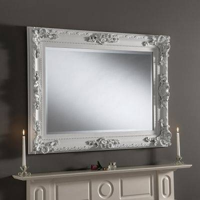 Inspiration about 36 Best Overmantle Mirrors Images On Pinterest | Overmantle Mirror Regarding White Overmantle Mirrors (#26 of 30)