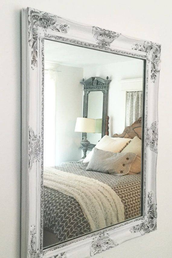 367 Best Mirrors Images On Pinterest | Custom Mirrors, Baroque Regarding Distressed Framed Mirrors (#4 of 30)