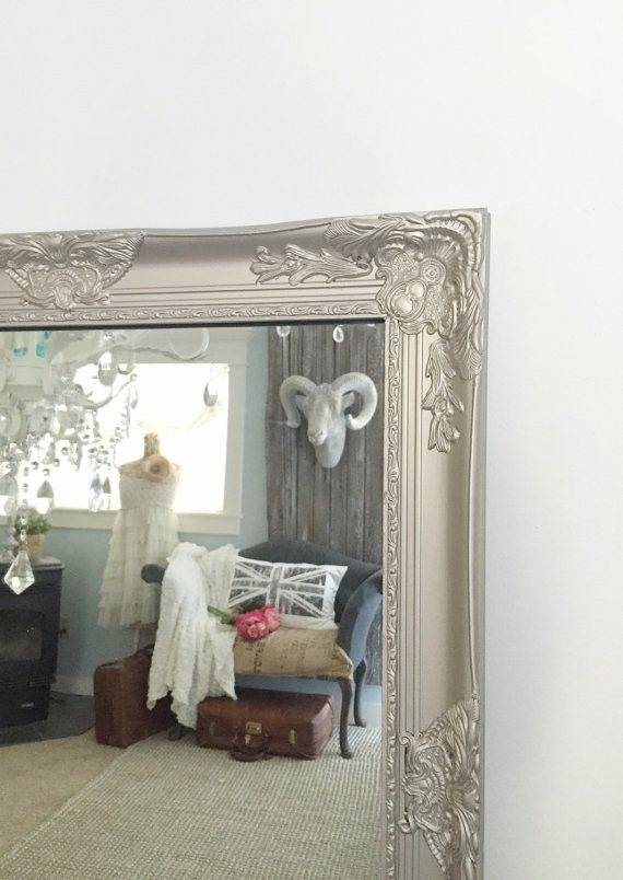 Inspiration about 367 Best Mirrors Images On Pinterest | Custom Mirrors, Baroque Regarding White Shabby Chic Mirrors Sale (#19 of 20)