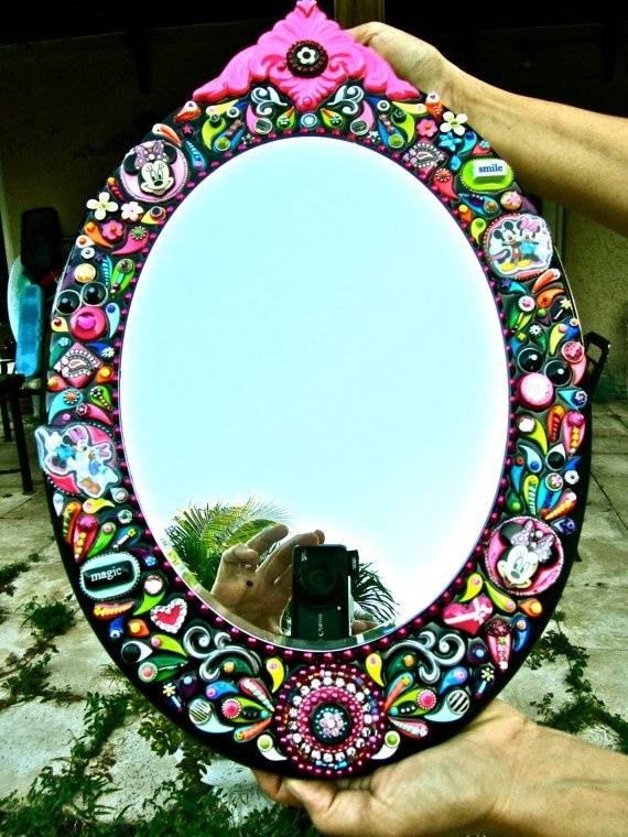 37 Best Embellished Mirrors Images On Pinterest | Mirror Mirror With Regard To Embellished Mirrors (#10 of 30)