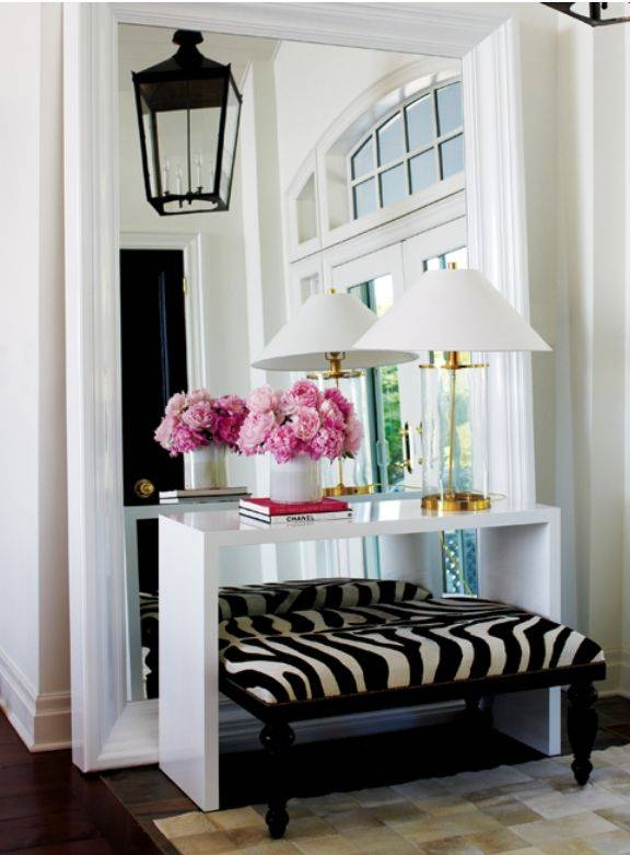 Inspiration about 37 Best Foyer Space Decor Images On Pinterest | Mirrors, Mirror Inside Large Pink Mirrors (#22 of 30)
