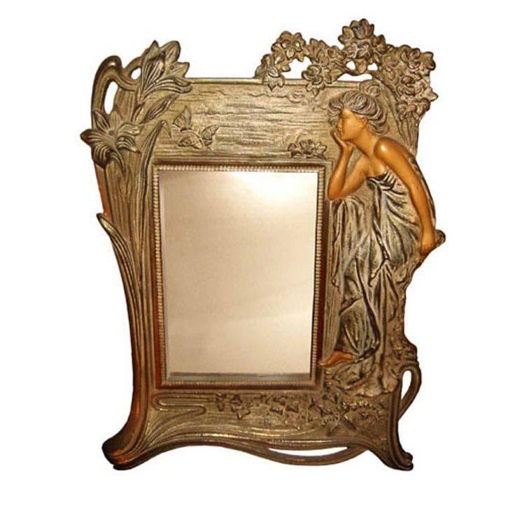 Inspiration about 38 Best Art Nouveau Images On Pinterest | Art Deco Art, Mirror Art Regarding Art Nouveau Dressing Table Mirrors (#13 of 20)