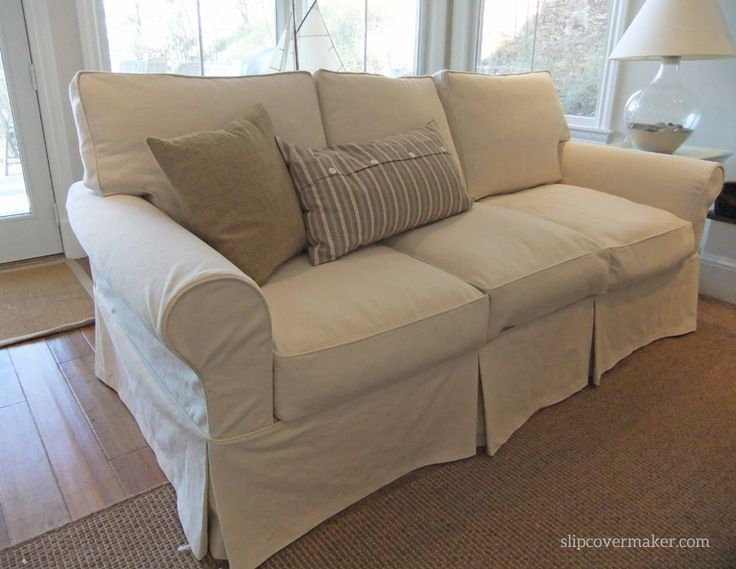 Inspiration about 38 Best Couch Slipcovers Images On Pinterest Couch Slipcover With Regard To Slipcovers For Sofas And Chairs (#6 of 15)
