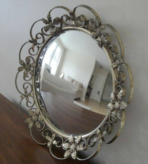 Inspiration about 38 Best L Adore Convex Mirrors! Mayrosevintage.blogspot Images Regarding Antique Convex Mirrors (#20 of 20)