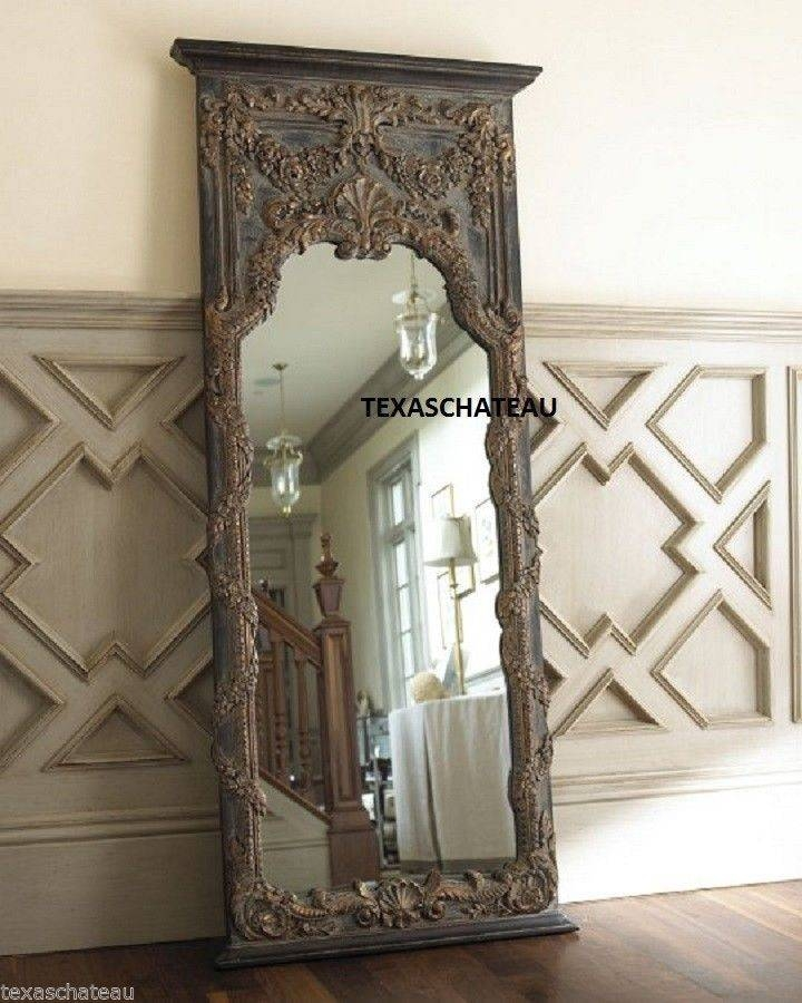 Inspiration about 38 Best Mirror, Mirror! Images On Pinterest | Mirror Mirror, Floor Within Antique French Floor Mirrors (#11 of 20)