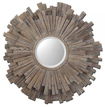 382 Best Art Images On Pinterest | Wall Mirrors, Home Decor Wall Pertaining To Unique Round Mirrors (#6 of 30)