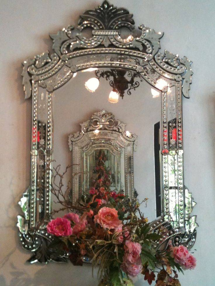 Inspiration about 382 Best Venetian Mirrors/ornate Mirrors Images On Pinterest Within Antique Venetian Glass Mirrors (#19 of 20)