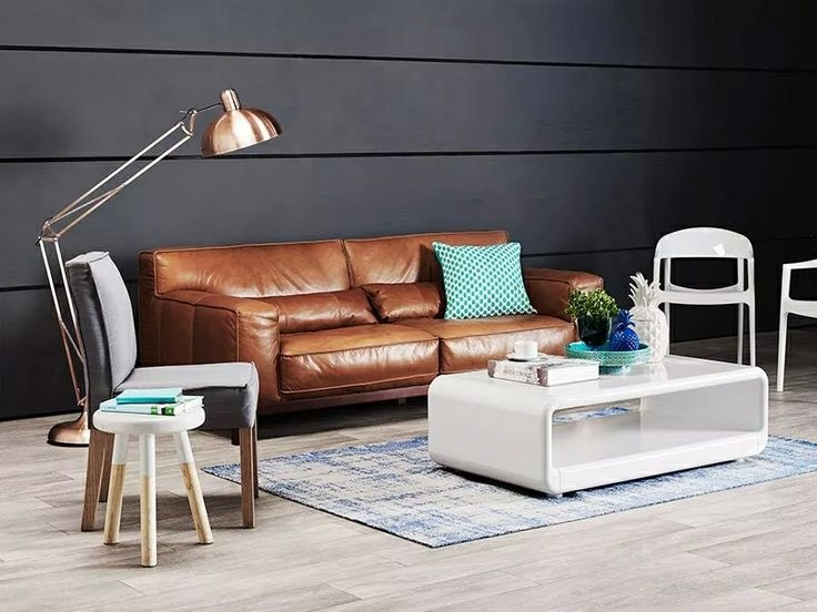 Popular Photo of Leather Lounge Sofas