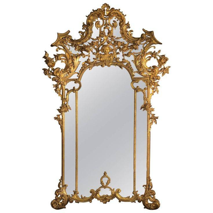 39 Best Mirror Mirror Images On Pinterest | Mirror Mirror, Antique Pertaining To Rococo Style Mirrors (#3 of 30)
