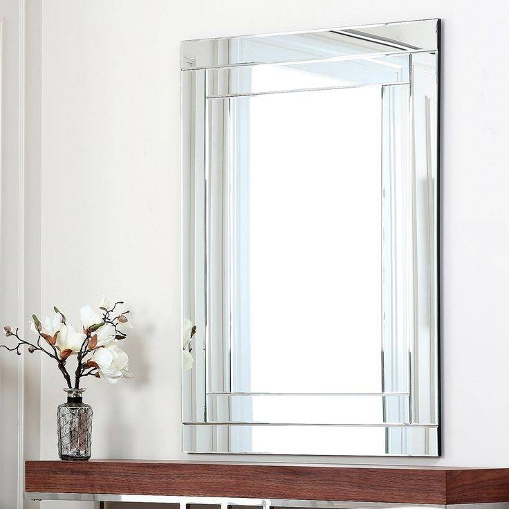 Popular Photo of No Frame Wall Mirrors