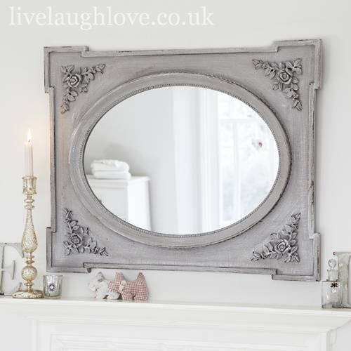 39 Best Mirrors Images On Pinterest | Shabby Chic Mirror, Mirrors In French Chic Mirrors (View 11 of 30)