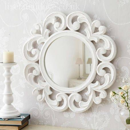 Inspiration about 39 Best Mirrors Images On Pinterest | Shabby Chic Mirror, Mirrors Inside Round Shabby Chic Mirrors (#14 of 30)