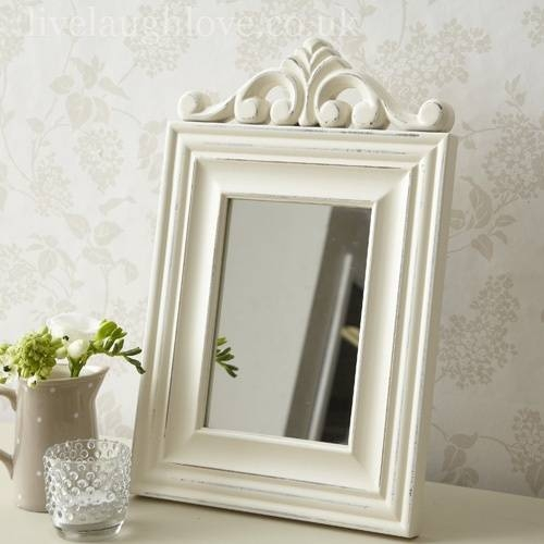 Inspiration about 39 Best Mirrors Images On Pinterest | Shabby Chic Mirror, Mirrors Pertaining To Free Standing Shabby Chic Mirrors (#2 of 15)