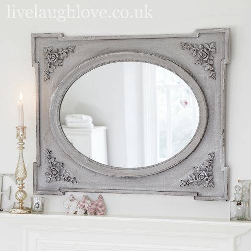 Inspiration about 39 Best Mirrors Images On Pinterest | Shabby Chic Mirror, Mirrors Regarding Mirrors Shabby Chic (#11 of 20)