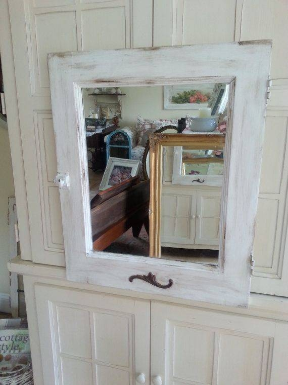 Inspiration about 39 Best Vintage Mirrors Images On Pinterest | Vintage Mirrors Within White Shabby Chic Mirrors Sale (#15 of 20)