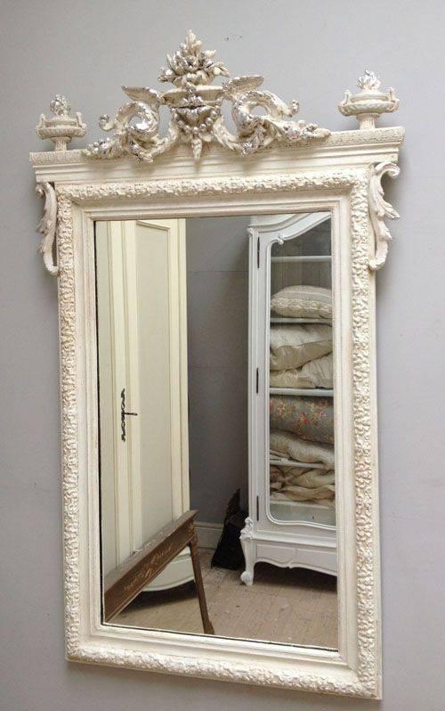 391 Best ~Mirrors~ Images On Pinterest | Mirror Mirror, Vintage Regarding French Vintage Mirrors (#4 of 20)