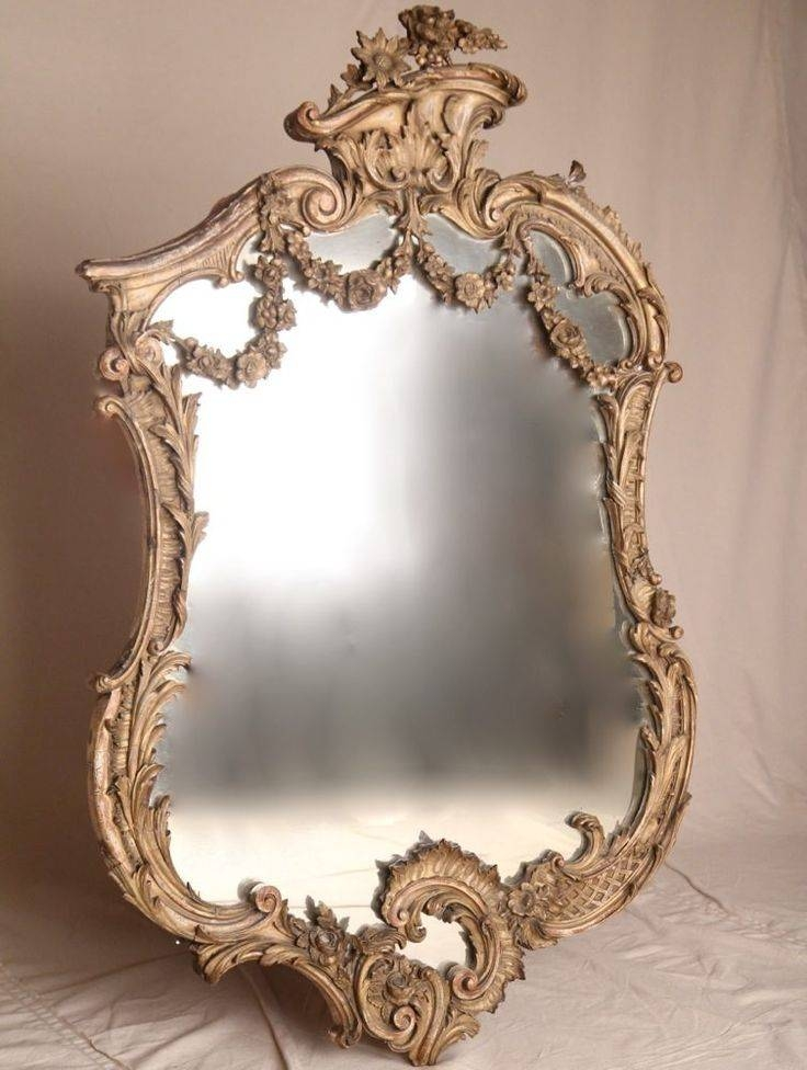 Inspiration about 394 Best Ant & Vtg Wall/stand Mirrors Images On Pinterest | Mirror Regarding Rococo Wall Mirrors (#3 of 20)