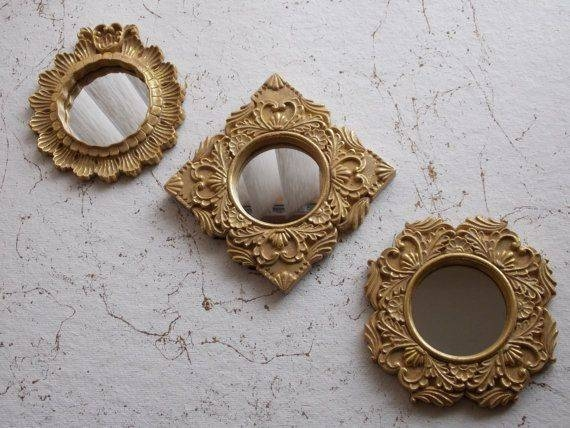 Inspiration about 395 Best Living Room Images On Pinterest   For The Home, Gold In Small Ornate Mirrors (#5 of 20)