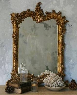 Inspiration about 397 Best Mirrors Images On Pinterest | Mirror Mirror, Antique In Large Rococo Mirrors (#27 of 30)