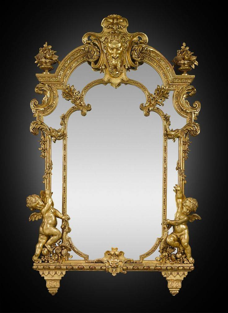 397 Best Mirrors Images On Pinterest | Mirror Mirror, Antique With Baroque Gold Mirrors (#11 of 20)