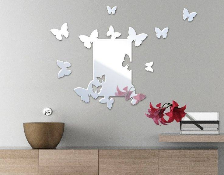 Inspiration about 398 Best Wall Decor Images On Pinterest | Projects, Diy And Regarding Butterfly Wall Mirrors (#13 of 20)