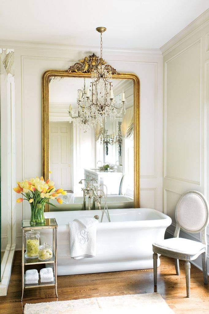 Inspiration about 40 Best Antique Mirrors Images On Pinterest | Antique Mirrors For Large Antique Gold Mirrors (#17 of 20)