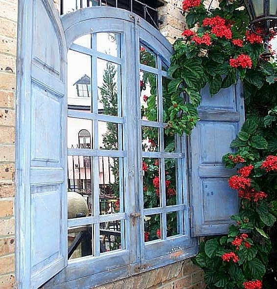 Inspiration about 40 Best Window Mirrors Images On Pinterest | Mirrors, Window Panes Within Wall Mirrors With Shutters (#5 of 20)