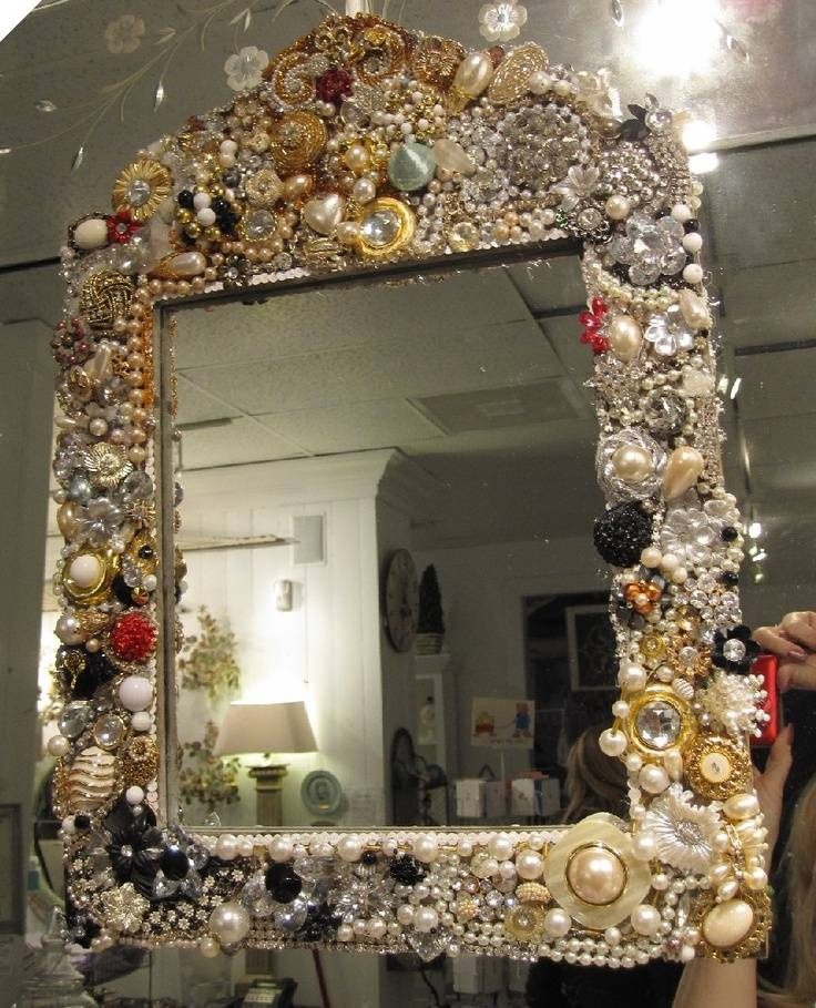 Inspiration about 403 Best Mirror Mirror On The Wall Images On Pinterest | Mirror With Embellished Mirrors (#12 of 30)