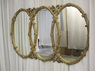 Inspiration about 41 Best Персидская Кошка Images On Pinterest | Figurine, Persian Throughout Triple Oval Wall Mirrors (#5 of 20)