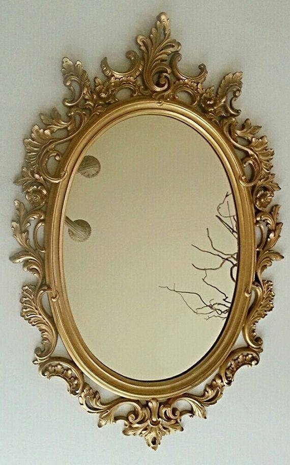 Inspiration about 41 Best Gold Ornate Mirrors Images On Pinterest | Ornate Mirror Intended For Rococo Gold Mirrors (#15 of 20)