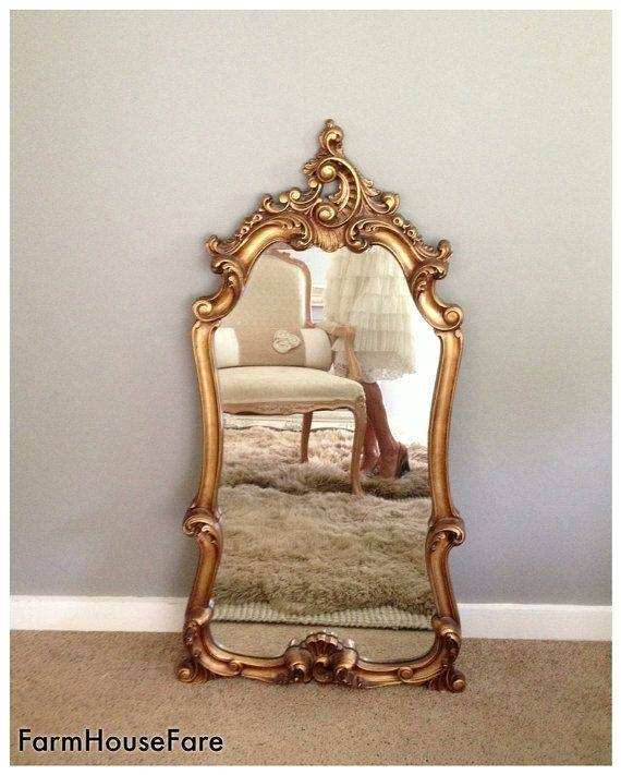 Inspiration about 41 Best Gold Ornate Mirrors Images On Pinterest | Ornate Mirror Pertaining To Large Ornate Mirrors (#20 of 20)