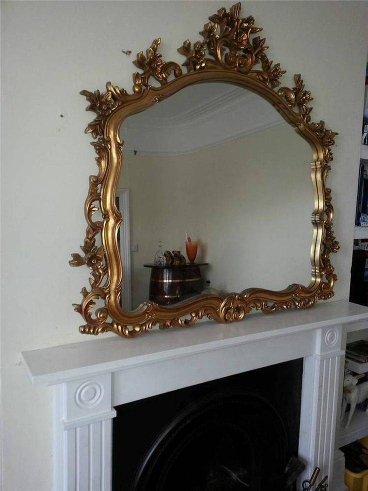 41 Best Gold Ornate Mirrors Images On Pinterest | Ornate Mirror With Large Ornate Gold Mirrors (#12 of 30)