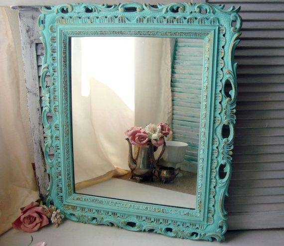 41 Best Gold Ornate Mirrors Images On Pinterest | Ornate Mirror With Ornate Vintage Mirrors (#11 of 30)