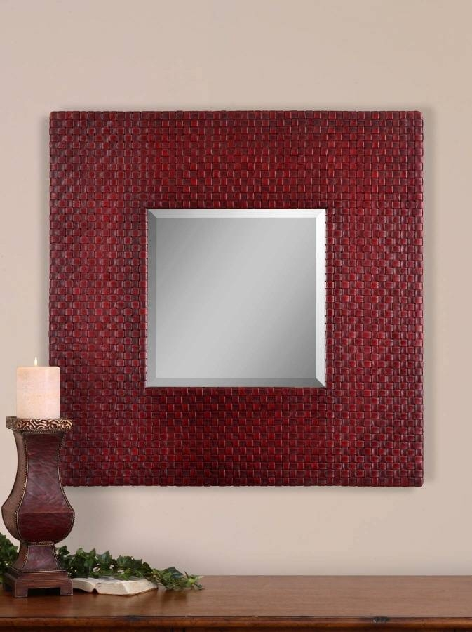 41 Best Mirrors Images On Pinterest | Mirror Mirror, Mirrors And In Wall Leather Mirrors (#3 of 30)
