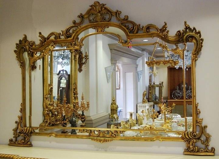 Inspiration about 416 Best Mirrors Images On Pinterest | Antique Mirrors, Mirror In Rococo Mirrors (#11 of 20)