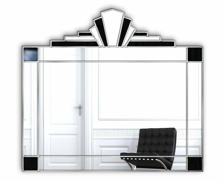 42 Best Autumn Sale Images On Pinterest | Art Deco Mirror, Wall Inside Art Deco Wall Mirrors (#2 of 20)