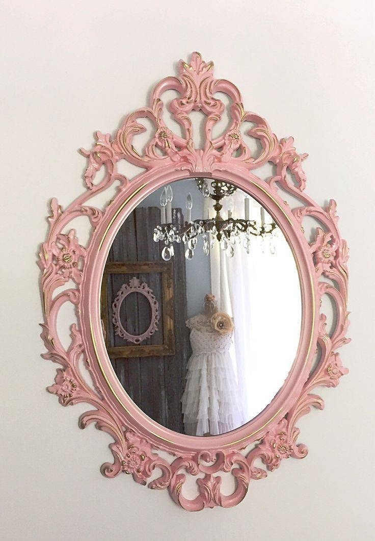 Inspiration about 42 Best Espejos Images On Pinterest | Mirrors, Vintage Frames And Intended For Large Pink Mirrors (#17 of 30)