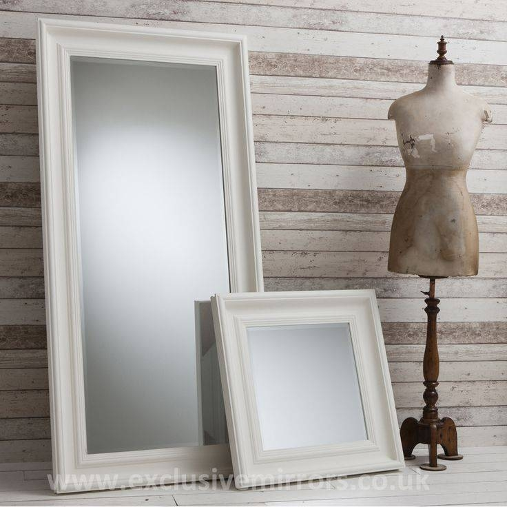 42 Best Leaner Mirrors Images On Pinterest | Leaner Mirror, Framed Regarding Large Cream Mirrors (#4 of 30)