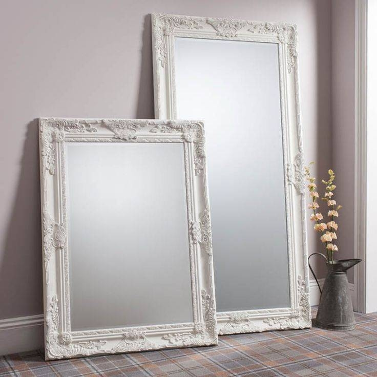 Inspiration about 42 Best Leaner Mirrors Images On Pinterest | Leaner Mirror, Framed With Antique Cream Mirrors (#11 of 20)