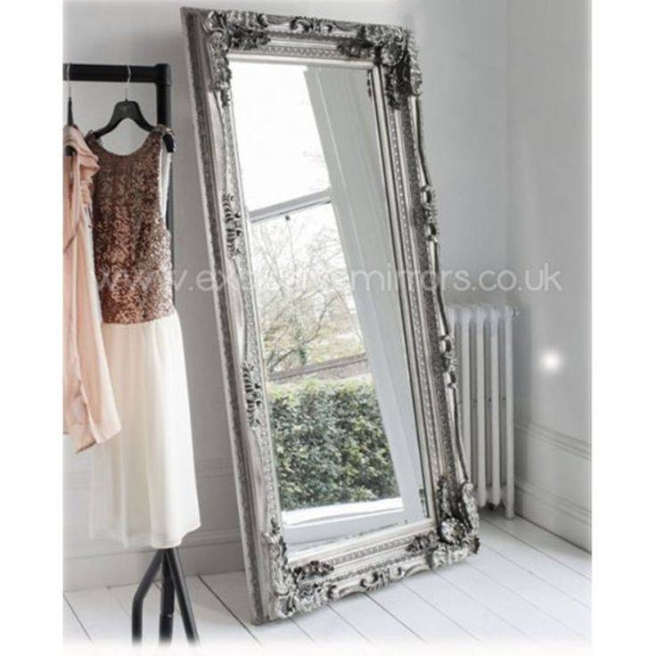 42 Best Leaner Mirrors Images On Pinterest | Leaner Mirror, Framed With Silver Ornate Mirrors (#2 of 30)