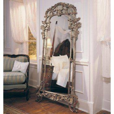 42 Best Mirrors Images On Pinterest | Mirror Mirror, Full Length For Vintage Floor Length Mirrors (#3 of 30)